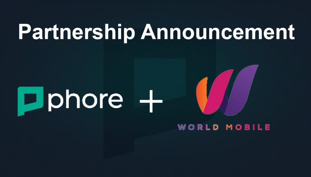 Phore and World Mobile Telecom Announce Partnership